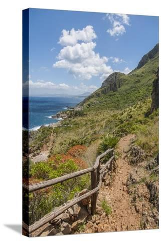 Lo Zingaro Natural Reserve-Guido Cozzi-Stretched Canvas Print