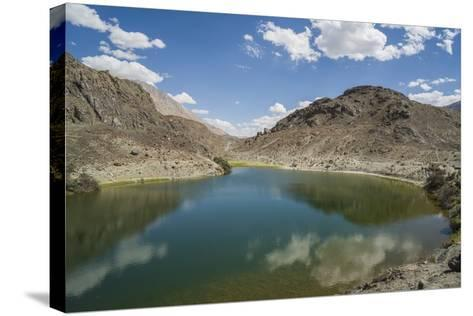 Nubra Valley, Panamik Thermal Lake-Guido Cozzi-Stretched Canvas Print