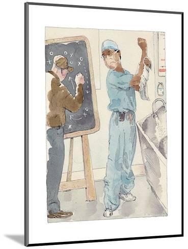 Annals of Medicine - New Yorker Cartoon-Barry Blitt-Mounted Premium Giclee Print