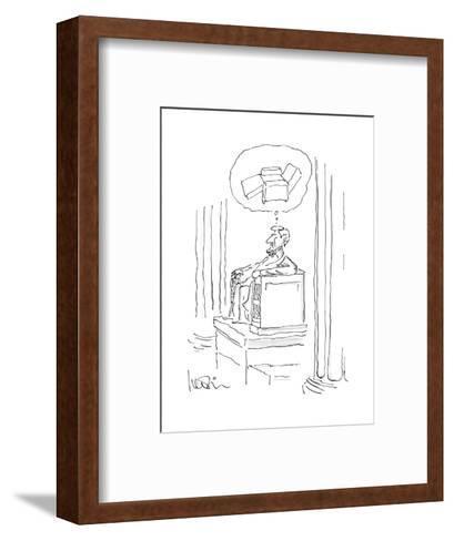 New Yorker Cartoon-Arnie Levin-Framed Art Print