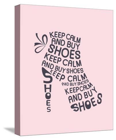 Boot from Quote-Ladoga-Stretched Canvas Print