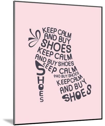 Boot from Quote-Ladoga-Mounted Art Print