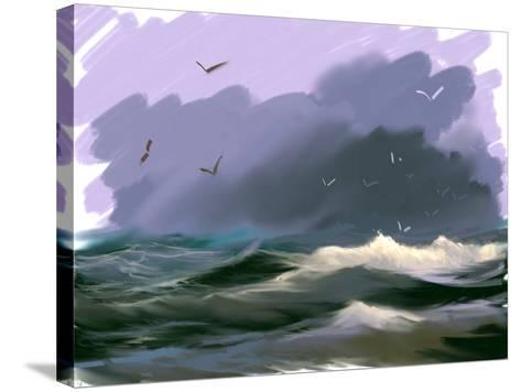 Seascape- yakymenko-Stretched Canvas Print