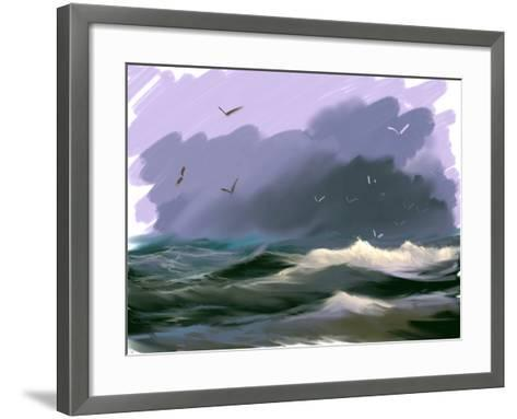 Seascape- yakymenko-Framed Art Print