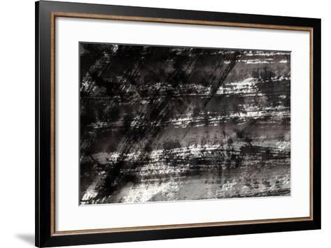 Ink Textutre-jim80-Framed Art Print