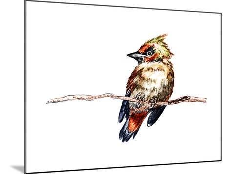 Hand Draw Bird-jim80-Mounted Art Print