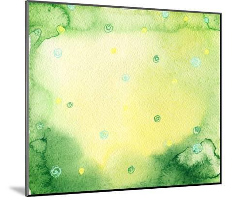 Abstract Background-Anna Ismagilova-Mounted Art Print