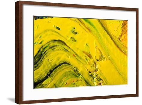 Abstract Background Painting-Suchota-Framed Art Print