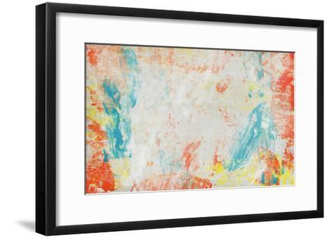 Abstract Background-Anna Ismagilova-Framed Art Print