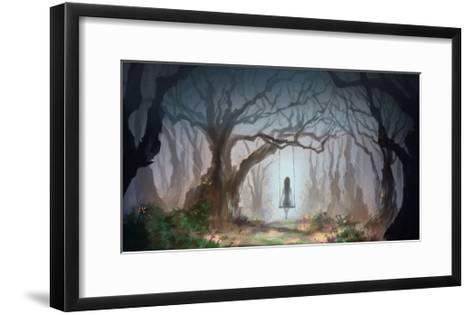 Digital Painting-non157-Framed Art Print