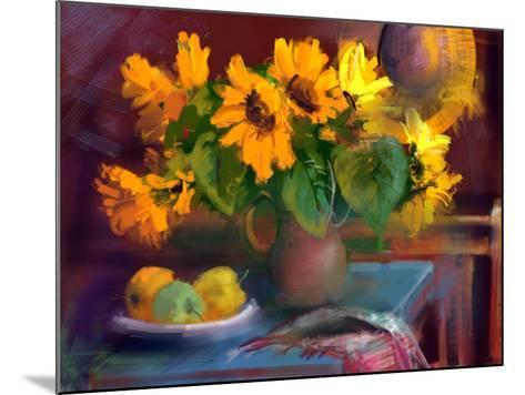 Sunflowers- yakymenko-Mounted Art Print