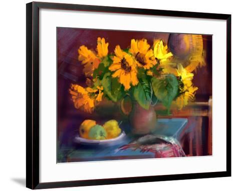 Sunflowers- yakymenko-Framed Art Print