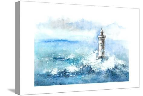 Lighthouse-okalinichenko-Stretched Canvas Print