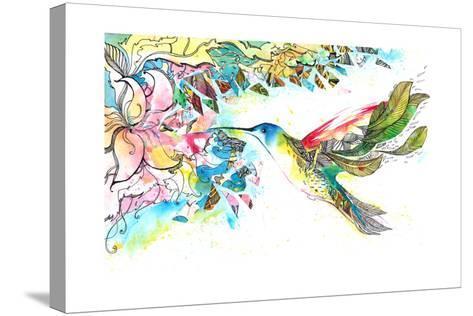 Kohlrabi-okalinichenko-Stretched Canvas Print