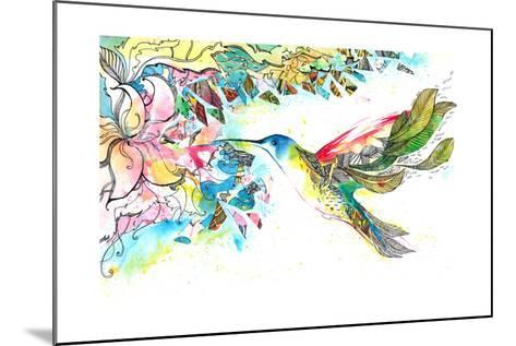 Kohlrabi-okalinichenko-Mounted Art Print