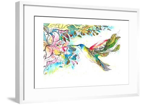 Kohlrabi-okalinichenko-Framed Art Print