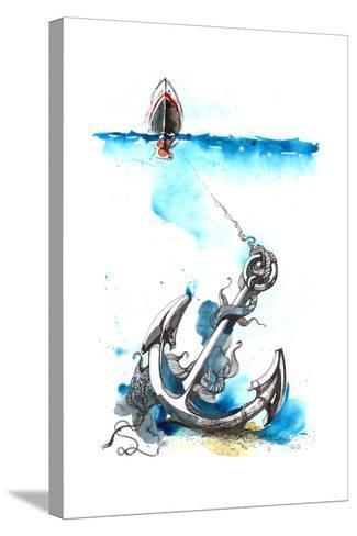 Sea-okalinichenko-Stretched Canvas Print