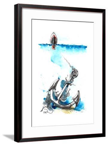 Sea-okalinichenko-Framed Art Print