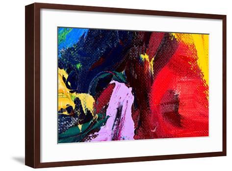 Abstract Background-Suchota-Framed Art Print