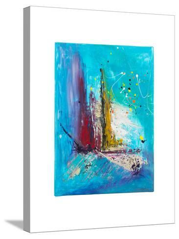Abstract Painting- kaycco-Stretched Canvas Print