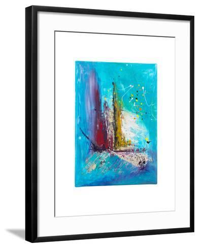 Abstract Painting- kaycco-Framed Art Print