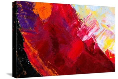 Abstract Painting-Suchota-Stretched Canvas Print