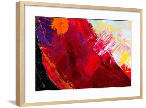 Abstract Painting-Suchota-Framed Art Print