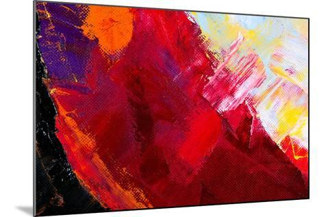 Abstract Painting-Suchota-Mounted Art Print