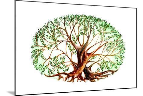 Couple of Trees-okalinichenko-Mounted Art Print