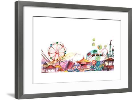 Park-okalinichenko-Framed Art Print