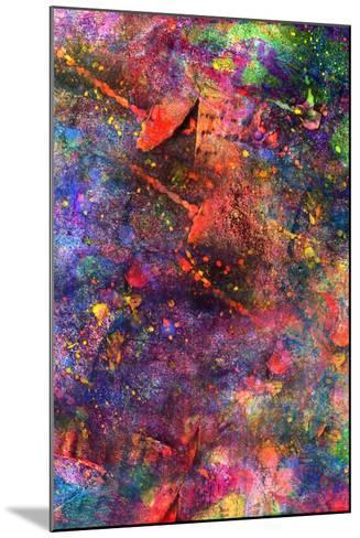 Child's Abstract Art Painting-Alexey Kuznetsov-Mounted Art Print