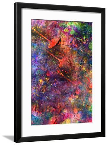 Child's Abstract Art Painting-Alexey Kuznetsov-Framed Art Print
