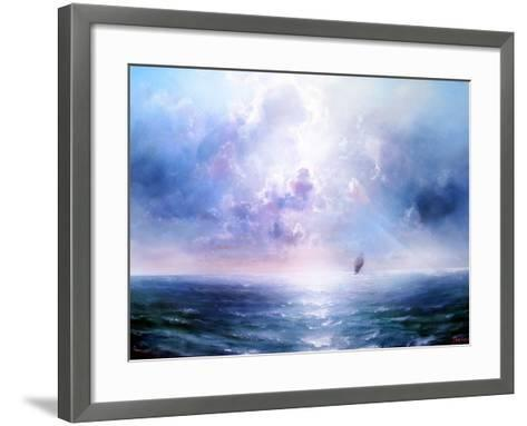 Seascape Open Sea- yakymenko-Framed Art Print