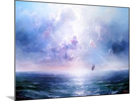 Seascape Open Sea- yakymenko-Mounted Art Print