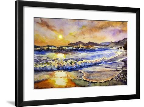 Sunset-Igor-Framed Art Print