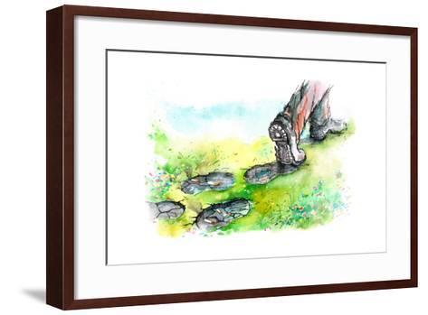 Ecology-okalinichenko-Framed Art Print
