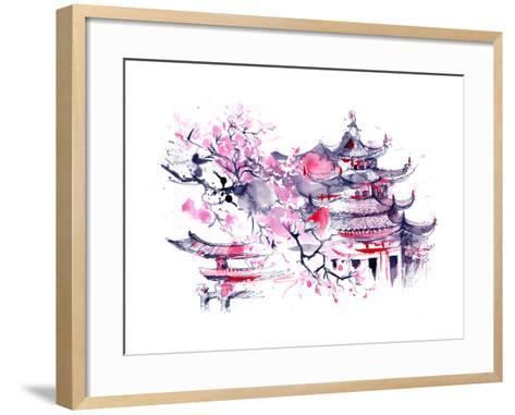 Japan-okalinichenko-Framed Art Print