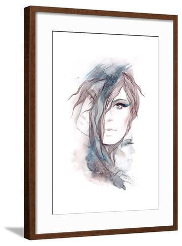 Multi-Faceted Personality-okalinichenko-Framed Art Print
