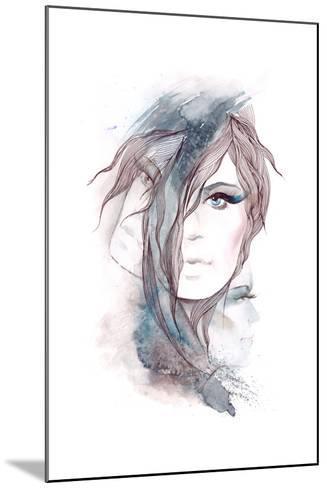 Multi-Faceted Personality-okalinichenko-Mounted Art Print