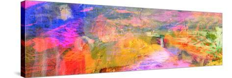 Abstract on Canvas-Laurin Rinder-Stretched Canvas Print