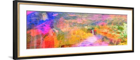 Abstract on Canvas-Laurin Rinder-Framed Art Print