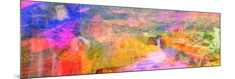 Abstract on Canvas-Laurin Rinder-Mounted Art Print