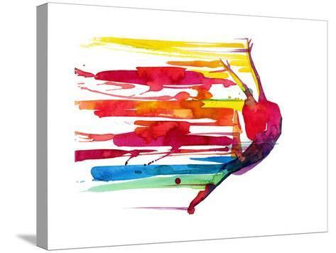 Motion-okalinichenko-Stretched Canvas Print
