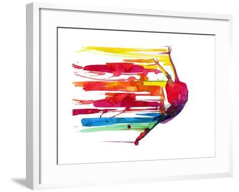 Motion-okalinichenko-Framed Art Print