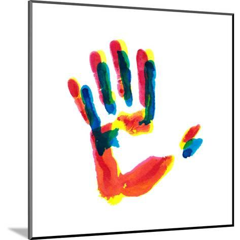Hand Print-okalinichenko-Mounted Art Print