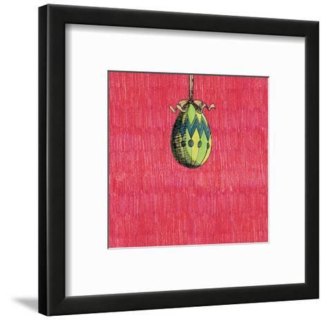 Decoration Egg for Eastereaster-tannene-Framed Art Print