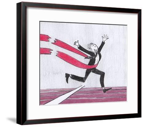 The Victory-tannene-Framed Art Print
