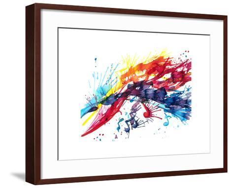 Abstract Music-okalinichenko-Framed Art Print