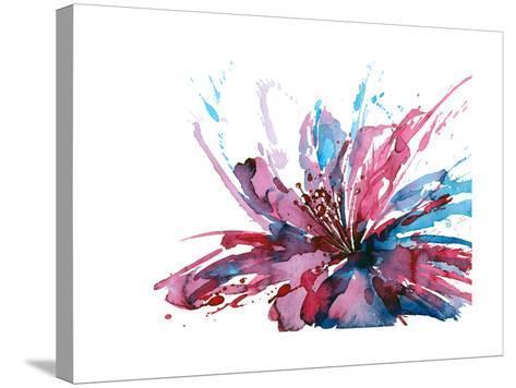 Abstract Flower-okalinichenko-Stretched Canvas Print