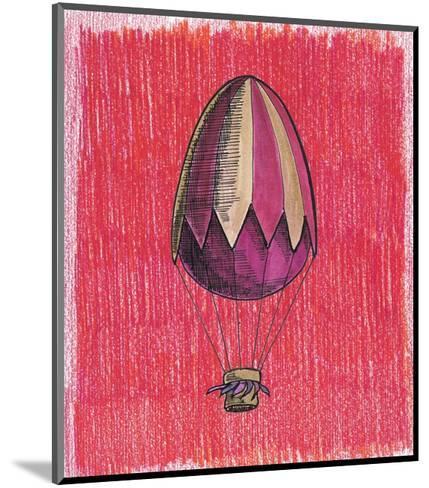 Egg Balloon for Easter-tannene-Mounted Art Print